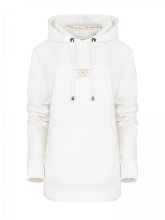 Hoodie French Terry White